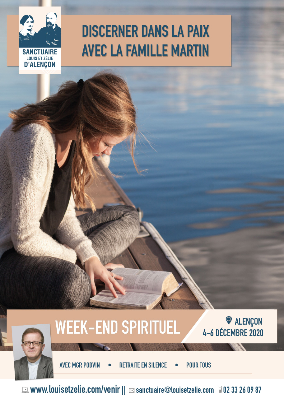 Affiche week-end spirituel